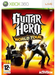 X360 GUITAR HERO  WORLD TOUR TEK OYUN