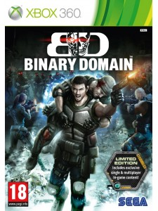 X360 BINARY DOMAIN LIMITED EDITION