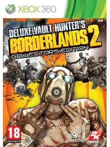 X360 BORDERLANDS 2 VAULT HUNTERS COLLLECTOR ED.