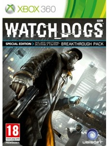 X360 WATCH DOGS SPECIAL ED.