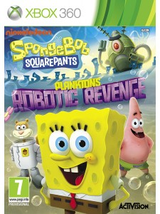 X360 SPONGEBOB SQUARE PANTS ROBOTIC REVENGE