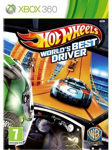 X360 HOT WHEELS WORLD'S BEST DRIVER