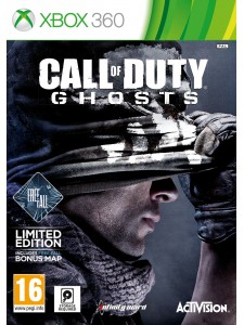X360 CALL OF DUTY GHOSTS D1 EDITION