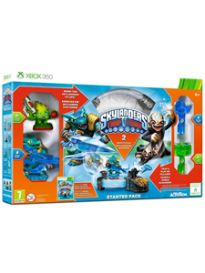 X360 SKYLANDERS TRAP TEAM STARTER PACK