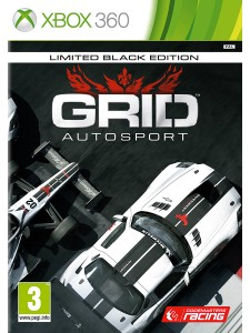 X360 GRID AUTOSPORT BLACK EDITION