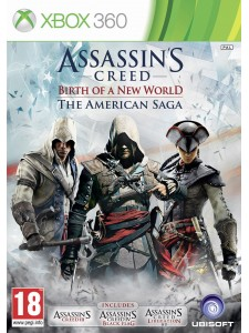 X360 ASSASSINS CREED AMERICAN SAGA
