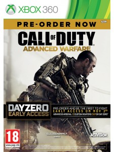 X360 CALL OF DUTY ADVANCED WARFARE DAY ZERO