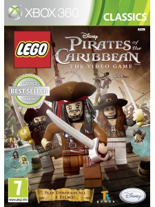 X360 DISNEY LEGO PIRATES OF THE CARIBBEAN