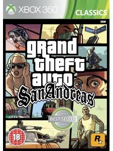 X360 GTA: SAN ANDREAS