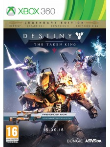 X360 DESTINY THE TAKEN KING D1 ED.