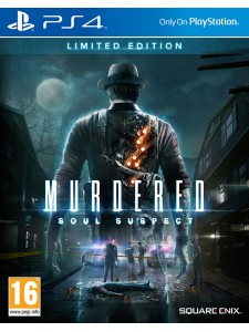 PS4 MURDERED SOUL SUSPECT LTD ED