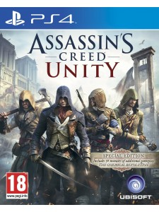PS4 ASSASSINS CREED UNITY SPECIAL ED.