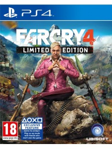 PS4 FAR CRY 4 LIMITED ED.
