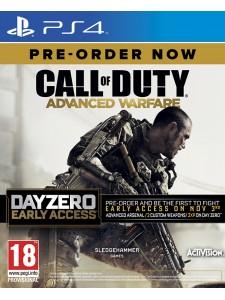 PS4 CALL OF DUTY ADVANCED WARFARE DAY ZERO