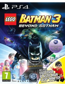 PS4 LEGO BATMAN 3 TOY EDITION