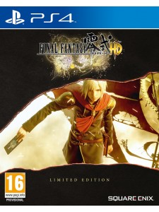 PS4 FINAL FANTASY TYPE 0 HD STEELBOOK LIM EDT