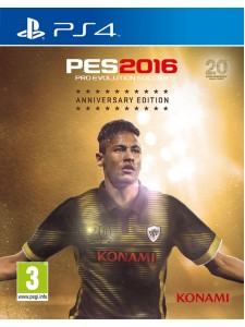 PS4 PES 2016 ANNIVERSARY EDT