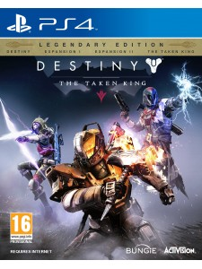 PS4 DESTINY THE TAKEN KING LEGENDARY EDITION
