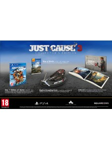 PS4 JUST CAUSE 3 COLLECTOR EDT.