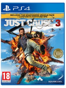 PS4 JUST CAUSE 3:CAPSTONE RPG LIMITED EDT.
