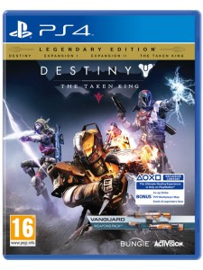PS4 DESTINY THE TAKEN KING D1 ED.