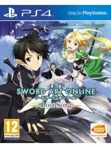 PS4 SWORD ART ONLINE 3: LOST SONG