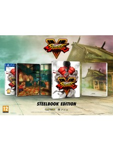 PS4 STREET FIGHTER V: STEEL BOOK EDT.