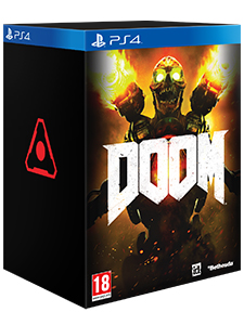 PS4 DOOM COLLECTOR EDT.
