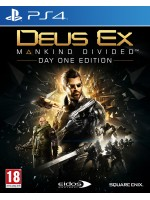 PS4 DEUS EX:MANKIND DIVIDED STEELBOOK EDT.