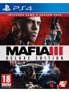 PS4 MAFIA III: DELUXE EDT.
