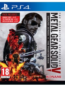 PS4 METAL GEAR SOLID V THE DEFINITIVE
