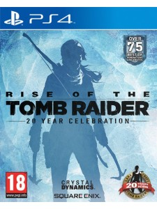 PS4 RISE OF THE TOMB RAIDER 20 YEAR EDT.