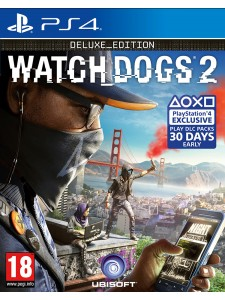 PS4 WATCH DOGS 2 DELUXE EDT
