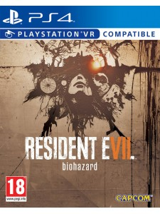 PS4 RESIDENT EVIL 7: STEEL BOOK EDT.