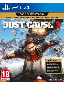 PS4 JUST CAUSE 3: GOLD EDITION