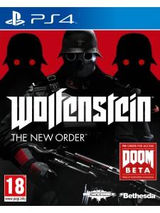 PS4 WOLFENSTEIN: THE NEW ORDER