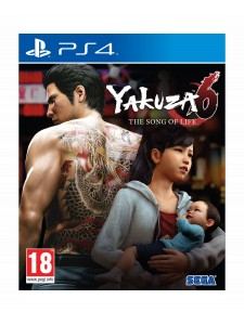 PS4 YAKUZA 6 SONG OF LIFE