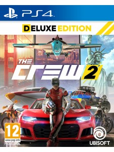 PS4 THE CREW 2 DELUXE EDT