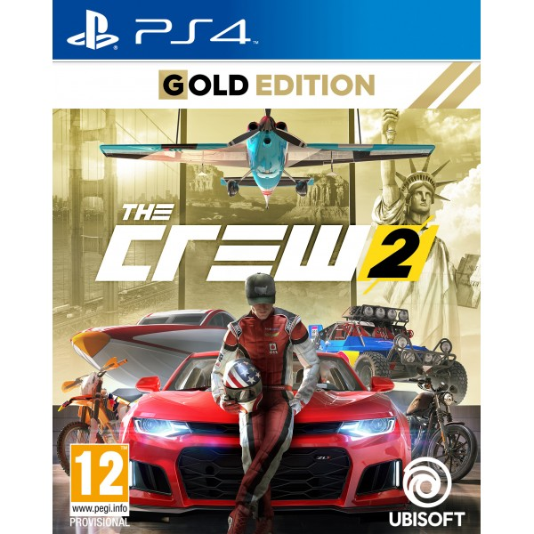 ps4 the crew 2 gold edition. Black Bedroom Furniture Sets. Home Design Ideas