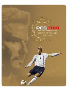 PS4 PES 2019 DAVID BECKHAM EDITION