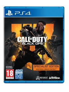 PS4 CALL OF DUTY BLACK OPS 4 SPECIALIST EDT