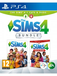 PS4 THE SIMS 4 ANA PAKET + CATS&DOGS BUNDLE