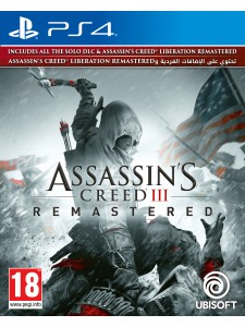 PS4 ASSASSINS CREED III REMASTERED
