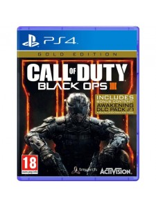 PS4 CALL OF DUTY BLACK OPS 3 GOLD