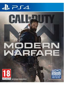PS4 CALL OF DUTY MODERN WARFARE + FİGÜR