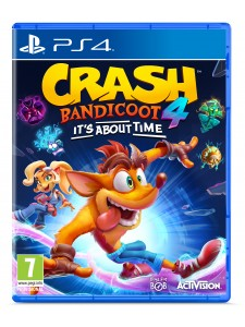 PS4 CRASH BANDICOOT 4 IT'S ABOUT TIME