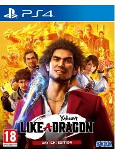 PS4 YAKUZA LIKE A DRAGON DAY ICHI STEELBOOK EDT