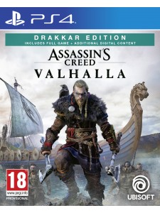 PS4 ASSASSINS CREED VALHALLA DRAKKER EDITION