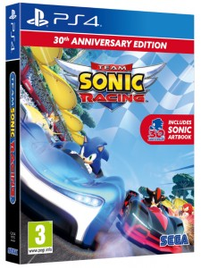 PS4 TEAM SONIC RACING 30TH ANNIVERSARY EDITION