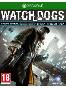 XBOX ONE WATCH DOGS SPECIAL ED.